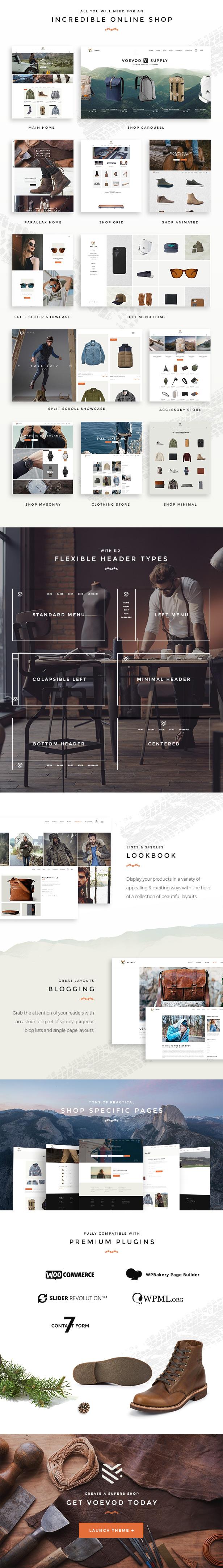 Voevod - Tienda WooCommerce - 2